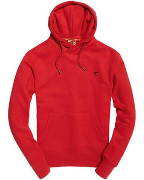 Červená mikina Superdry