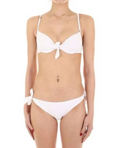 Biele dvojdielne plavky Joséphine Martin