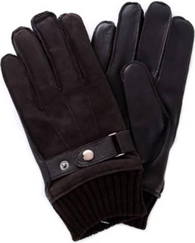 Hnedé rukavice Guess