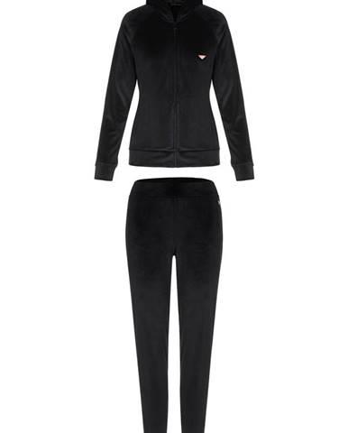 Čierne tepláky Emporio Armani Underwear