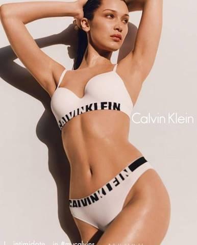 Biela podprsenka Calvin Klein