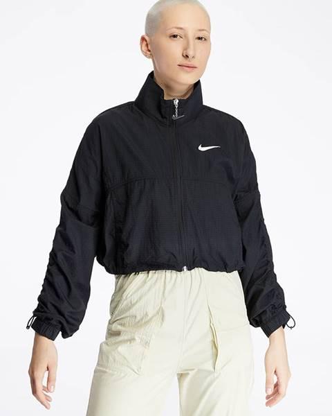 Čierna bunda Nike