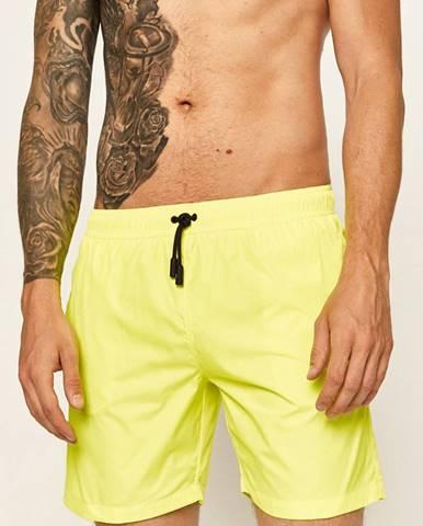 Žlté plavky Roberto Cavalli Sport