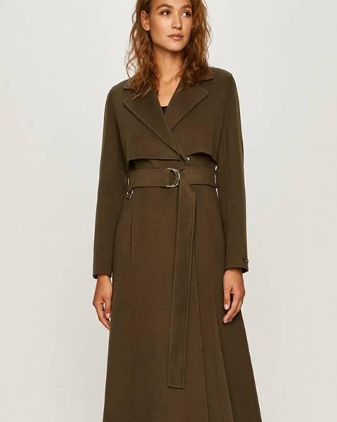 Zelený kabát Sportmax Code