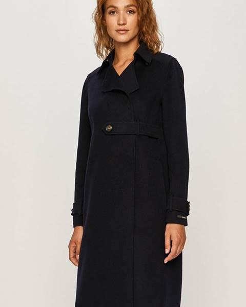 Tmavomodrý kabát Sportmax Code