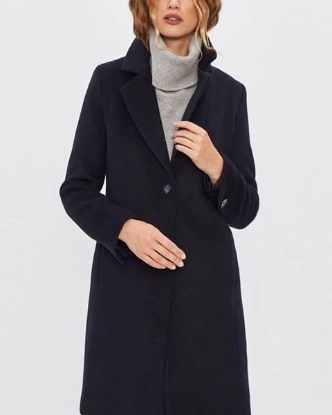 Tmavomodrý kabát Answear