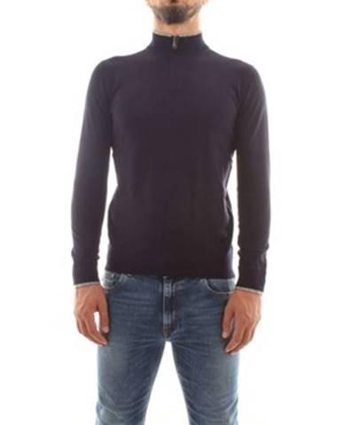 Modrý sveter Armani jeans