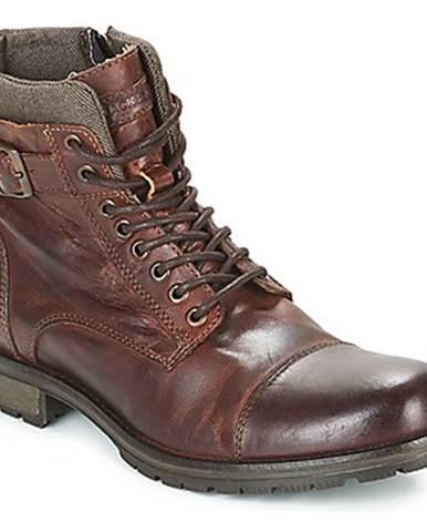 Hnedé topánky Jack   Jones