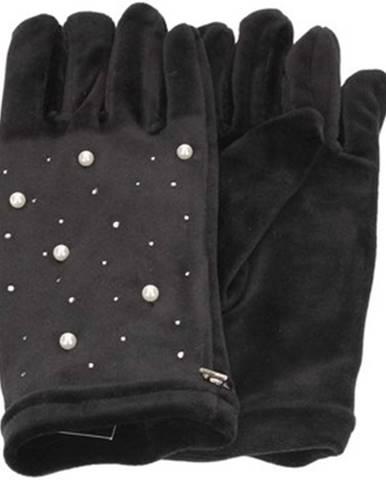 Čierne rukavice Caleidos