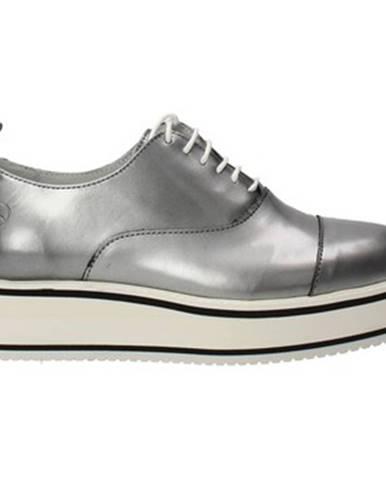 Strieborné topánky Bronx