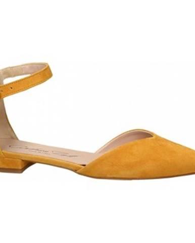 Žlté balerínky Andrea Zali