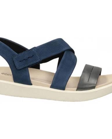 Modré sandále Ecco