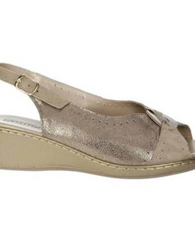 Béžové sandále Romagnoli