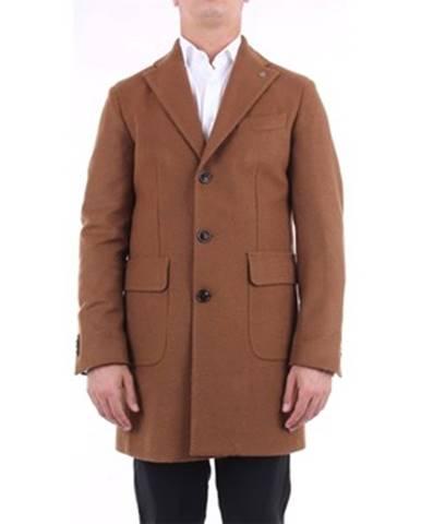 Hnedý kabát Luigi Bianchi Mantova