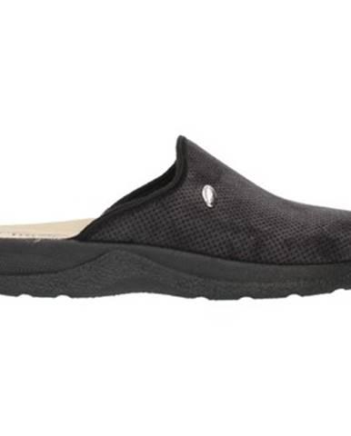 Čierne papuče Clia Walk
