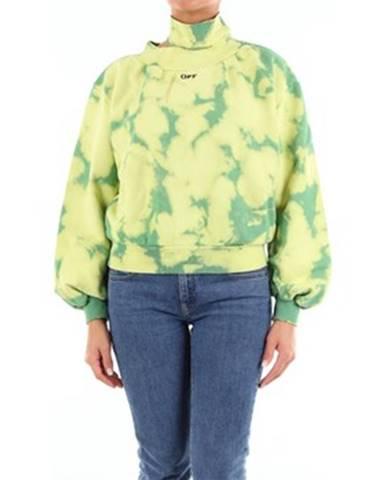 Zelený sveter Off-White