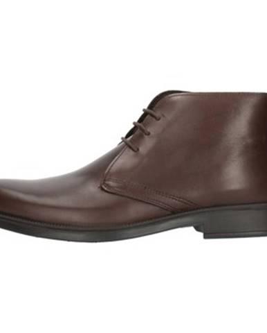 Hnedé topánky Enval