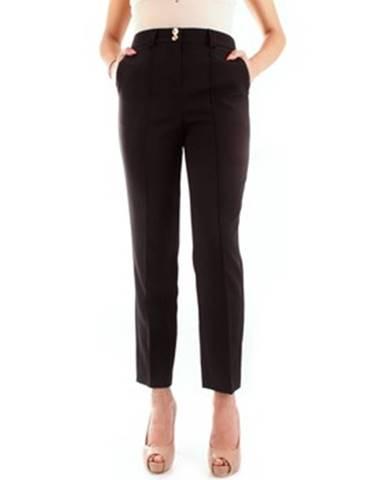Čierne nohavice Fracomina
