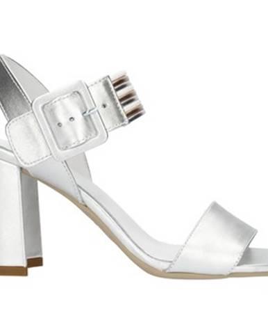 Strieborné sandále Nero Giardini
