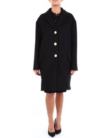 Čierny kabát Moschino