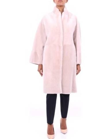 Ružový kabát Peserico