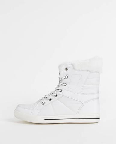 Biele zimná obuv SAM 73