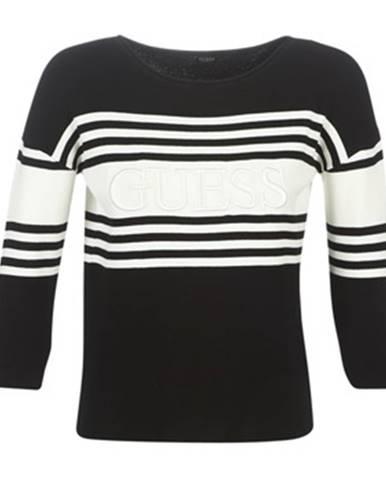 Čierny sveter Guess