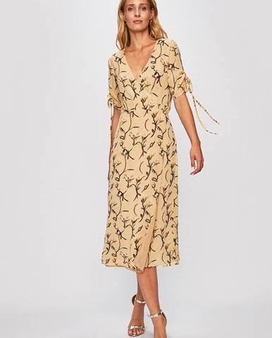 Béžové šaty Glamorous