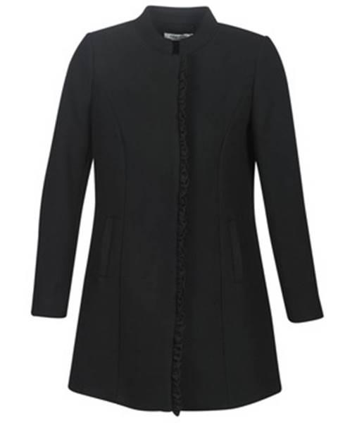 Čierny kabát Naf Naf