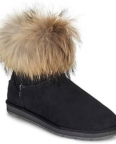 Čierne topánky Kaleo