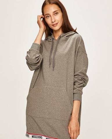 Sivé pyžamo Moschino Underwear