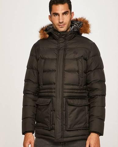 Čierna bunda Lacoste