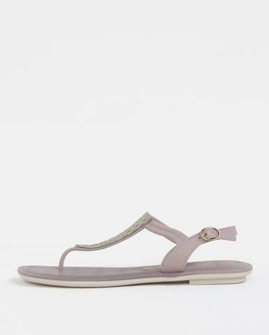 Fialové sandále Grendha