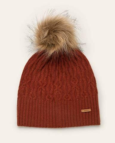 Oranžová čiapka Barts