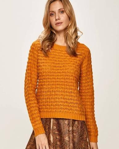 Oranžový sveter Jacqueline de Yong