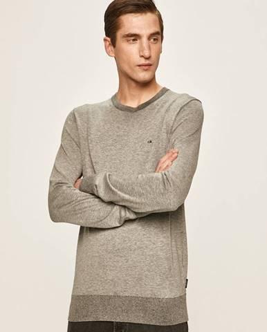 Sivý sveter Calvin Klein