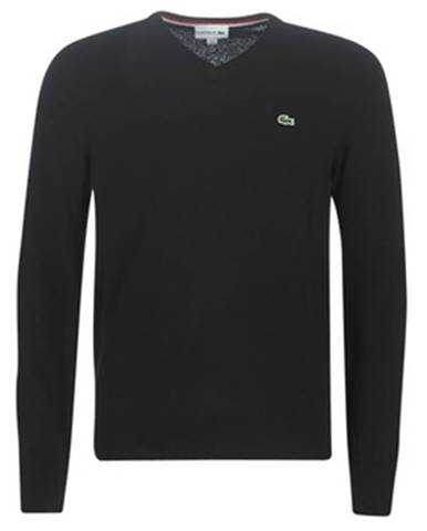 Čierny sveter Lacoste