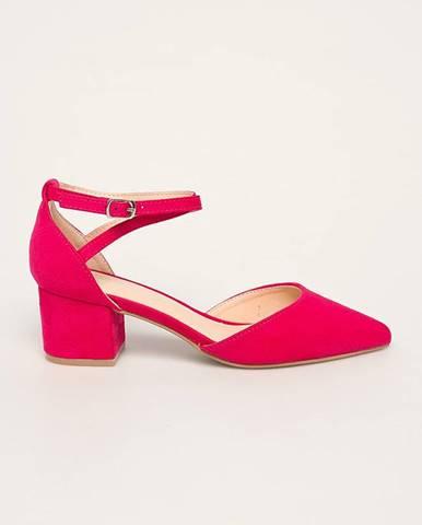 Ružové lodičky Answear