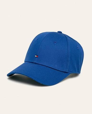 Modrá čiapka Tommy Hilfiger