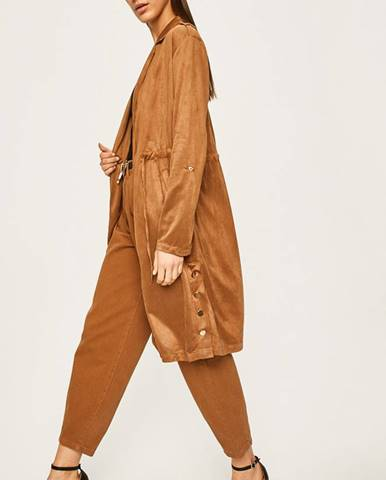 Hnedý kabát Answear