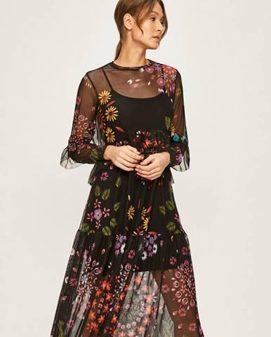 Čierne šaty Desigual