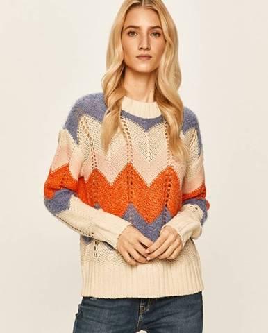 Béžový sveter Vero Moda