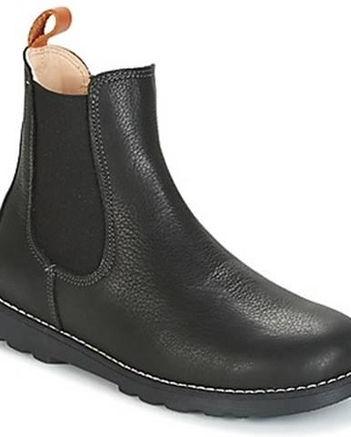 Čierne topánky Kavat