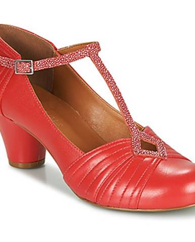 Červené lodičky Cristofoli