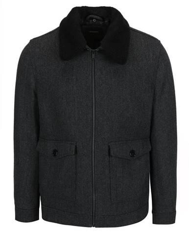 Sivá bunda Burton Menswear London