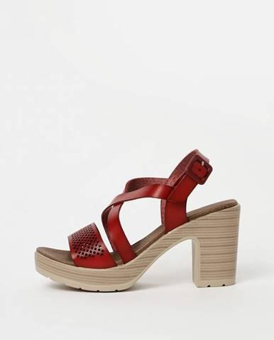 Červené sandále Xti