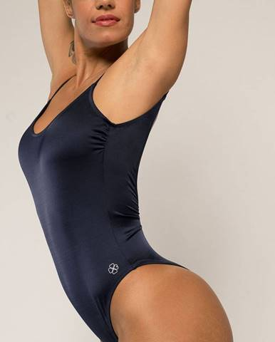 Čierne jednodielne plavky Dorina