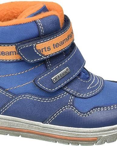 Modré členková obuv Cortina