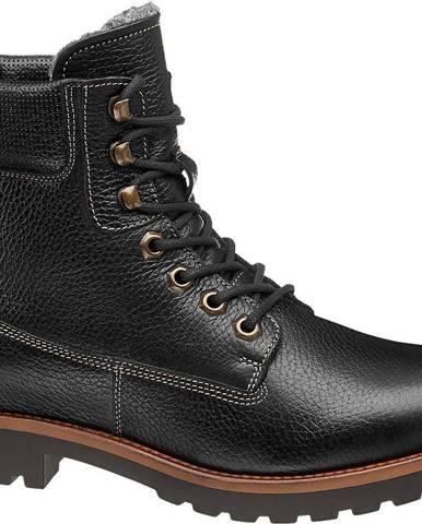 Čierne členková obuv Landrover