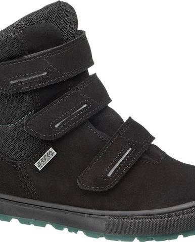 Čierne členková obuv Bartek